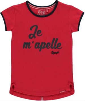 Quapi meisjes t-shirt Sindy rouge red