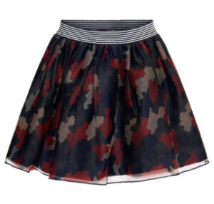 Topitm mesh skirt Paula aop military