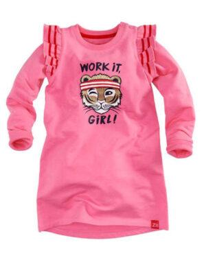 Z8 baby meisjes jurkje Johanna popping pink