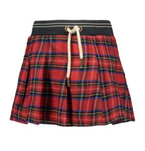 Like Flo schottische pleated skirt F909-5720
