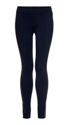 Topitm meisjes legging Selina travel dark blue