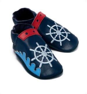 Baby Dutch baby slofjes boot blauw