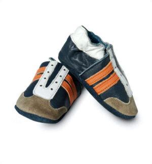 Baby Dutch baby jogger blauw-oranje
