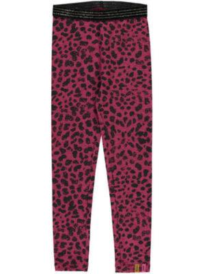 Quapi legging Tilou bordeaux leopard