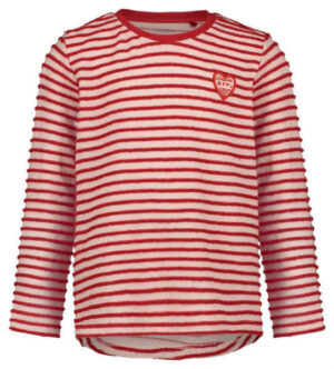 Noppies longsleeve Crestwood mineral red