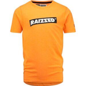 Raizzed jongens t-shirt Hudson neon orange
