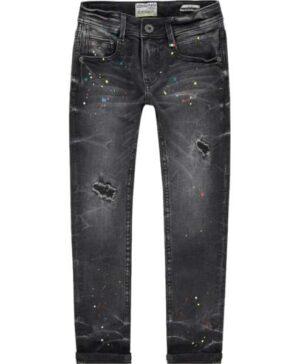 Vingino jongens spijkerbroek Anzio dark grey vintage