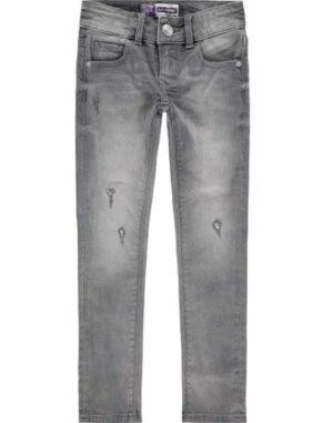 Raizzed meisjes jeans Adelaide mid grey stone