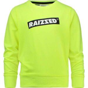 Raizzed jongens sweater Macau sparkle lime