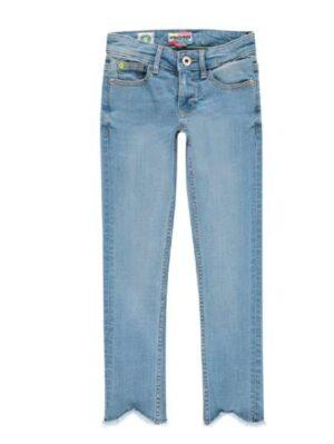 Vingino meisjes spijkerbroek Ann light blue vintage