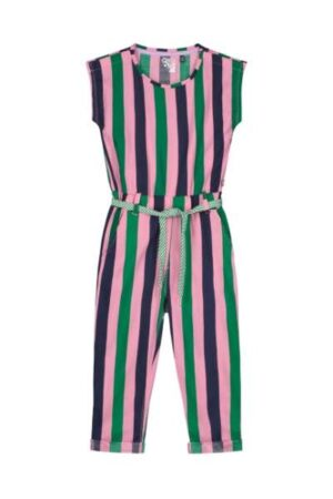 Quapi meisjes jumpsuit Aniek multi color stripe