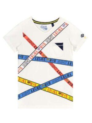 Quapi jongens t-shirt Ali white