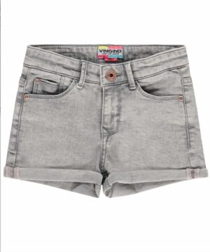 Vingino meisjes shorts Dewy light grey