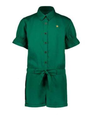 Like Flo meisjes playsuit sea green F002-5015