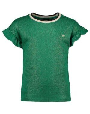 Like Flo metallic jersey ruffle top F002-5412