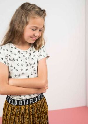 Like Flo meisjes t-shirt Palm F002-5420