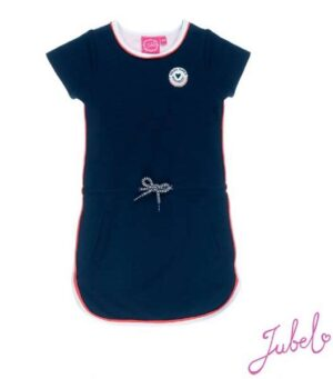 Jubel meisjes jurk Marine jacquard Funbird