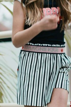 Topitm meisjes rok Daphne stripe viscose