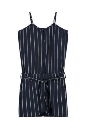 Levv meisjes jumpsuit Felizia dark navy white stripe