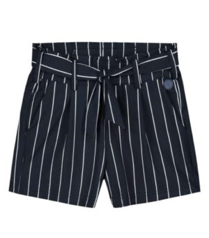 Levv meisjes short Fienne dark navy white stripe