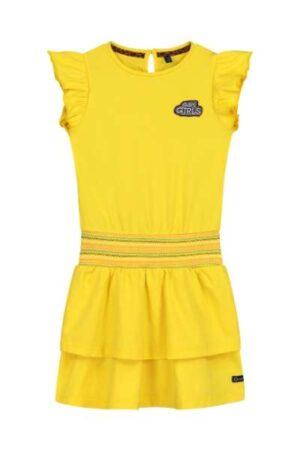Quapi meisjes jurk Amanda banana yellow