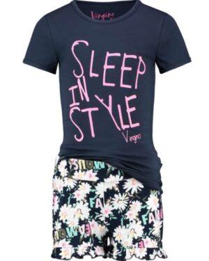 Vingino meisjes pyjama Wady dark blue