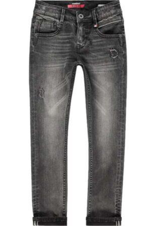 Vingino jongens spijkerbroek Acardo dark grey vintage