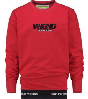 Vingino jongens zomersweater Norix Blast Red