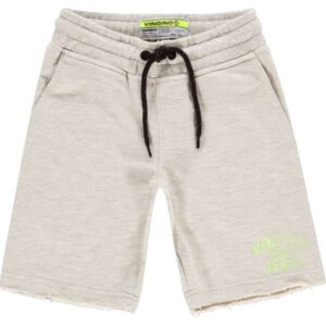 Vingino jongens shorts Rexx light grey melee