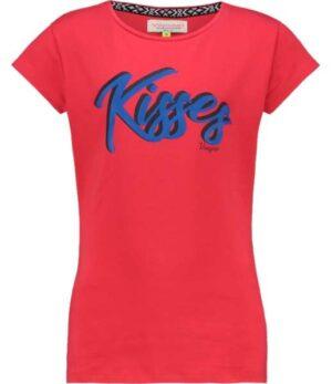 Vingino meisjes t-shirt Haidry red lollipop