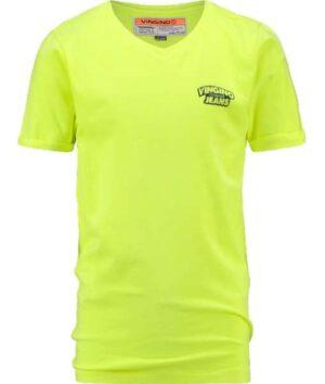 Vingino jongens t-shirt Hangu neon yellow