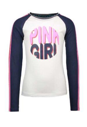 B.Nosy meisjes longsleeve pink girl Y003-5475