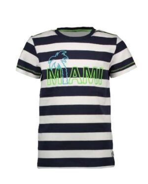 B.Nosy jongens t-shirt big stripe blue