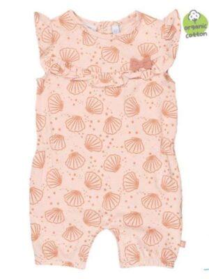 Feetje baby meisjes playsuit Shells roze