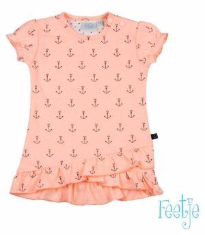 Feetje baby meisjes jurk sailor girl roze