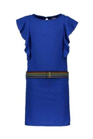 Like Flo meisjes jurk Kobalt dot F003-5840