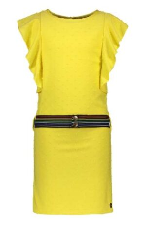 Like Flo meisjes jurk yellow dot F003-5840