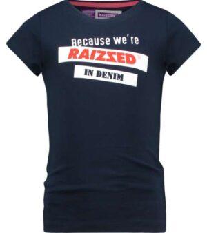 Raizzed meisjes t-shirt Atlanta dark blue
