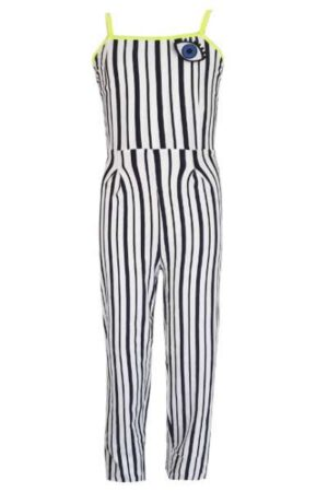 Topitm meisjes jumpsuit Lola stripe viscose