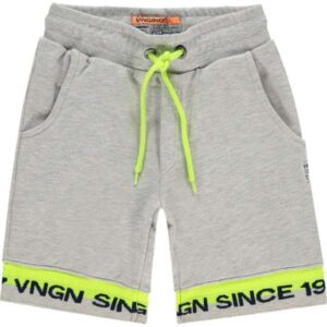 Vingino jongens shorts Rafy light grey melee