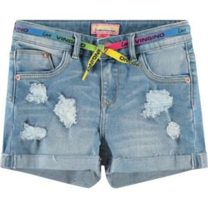 Vingino meisjes shorts Dafina light denim