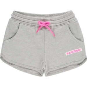 Raizzed meisjes short Auston light grey melee