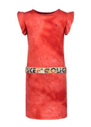 Like Flo meisjes jurk tie dye F004-5880