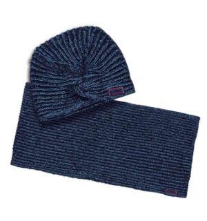 B.Nosy meisjes muts en sjaal oxford blue