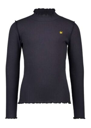 Like Flo rib turtle neck navy