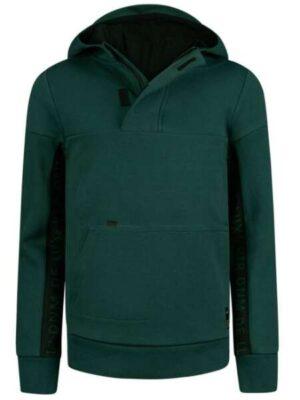 Retour Hoodie sweater Chaz dark green