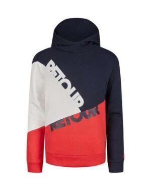 Retour hoodie sweater Rick red