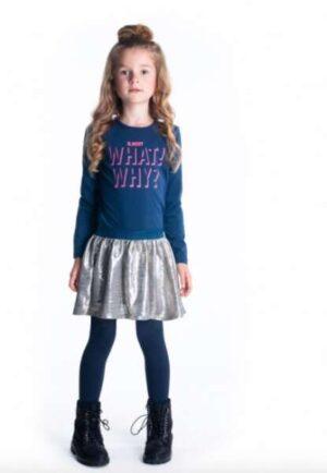 B.Nosy meisjes jurk space blue Y009-5891-146