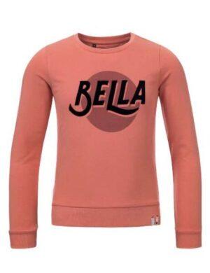La vita é Bella! Nou zeker in deze sweater! Heerlijke comfy sweater in een prachtige warme, maar toch frisse kleur. Combineert super leuk met zwart maar ook met onze te gekke bloemetjes print.