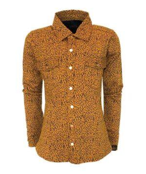 Topitm meisjes blouse Lola leopard